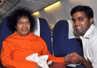 Aravind with Swami
